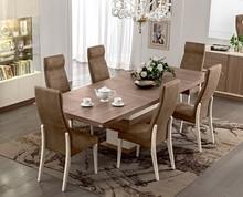Wyjątkowy stół rozkładany. Do wyboru mają Państwo stół z jedną przedłużką (45 cm) bądź dwiema. Prosimy o poinformowanie nas telefonicznie...