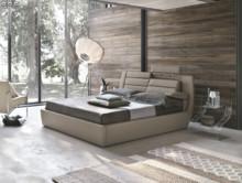 Tapicerowane łóżko ROMA z kolekcji Target Point. Łóżko typu king size z opatentowanym systemem regulacji wezgłowia i podłokietnika. Można uruchomić...