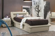 SARDEGNA to tapicerowane, miękkie, pojedyncze łóżko. Niezwykle wygodne i wielofunkcyjne- zagłówek jest jednocześnie schowkiem podręcznym. Łóżko...