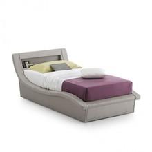 SARDEGNA to tapicerowane, pojedyncze łóżko z zagłówkiem, które jest jednocześnie podręcznym schowkiem. Łóżko SARDEGNA tapicerowane jest...