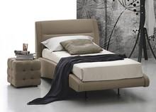 STROMBOLI to klasyczne, pojedyncze łóżko tapicerowane.<br />Łóżko STROMBOLI tapicerowane jest ekoskórą Soft.<br...