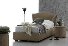MADDALENA to niezwykle stylowe, eleganckie, pojedyncze łóżko tapicerowane od Target Point.<br />Łóżko MADDALENA tapicerowane jest...