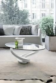 Tango- stolik kawowy od Target Point<br />Nierozkładana ława z nogami wykonanymi z aglomeratu i blatem ze szkła hartowanego.<br...