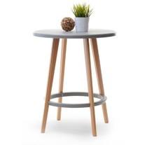 Stół okrągły CAPRI 60 - szary