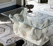 AFRODITE to stolik kawowy z limitowanej kolekcji Klasyka od włoskiego producenta Target Point.<br />Jest to ława wykonana z ceramiki, jej spód...