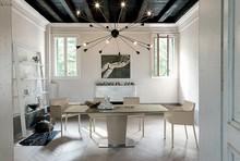COPERNICO to rozkładany stół kuchenny od włoskiej firmy Target Point. COPERNICO wykonany został z lakierowanej, metalowej ramy, lakierowanego spodu,...