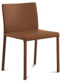 Krzesło Chloe-B wyprodukowane przez Domitalia. Krzesło posiada stalową ramę, jednak nie widać jej gołym okiem, ponieważ jest w całości tapicerowane....