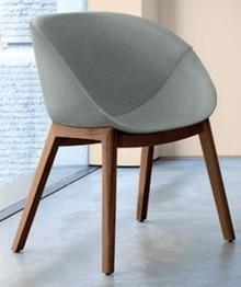 Krzesło Coquille-L wyprodukowane przez jedną z najlepszych firm meblarskich na świecie- Domitalia. Coquille-L został zaprojektowany przez genialny duet...