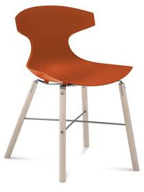 Krzesło Echo-L wyprodukowane przez jedną z najlepszych firm meblarskich na świecie- Domitalia. <br />Rama krzesła wykonana została z...
