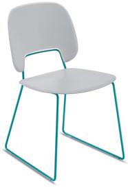 Traffic-T to krzesło pochodzące z kolekcji znanej na całym świecie firmy meblowej Domitalia.<br />Krzesło stworzone zostało z lakierowanej,...