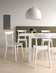 KRZESŁO EVERGREEN CB/1139 WYS. 82-47 CM CONNUBIA BY CALLIGARIS