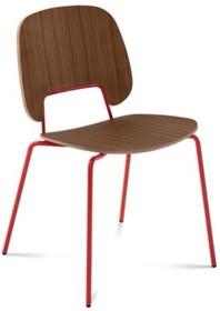Traffic to krzesło pochodzące z kolekcji znanej na całym świecie firmy meblowej Domitalia. Krzesło stworzone zostało z lakierowanej, stalowej...