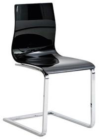 Krzesło GEL-L z rodziny produktów Domitalia.<br />Płozy krzesła wykonane są z chromowanej bądź lakierowanej stali. Pozostała część,...