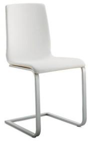 Krzesło JULIET-SL z rodziny produktów Domitalia.<br />Płozy krzesła i jego rama wykonane są z lakierowanej stali, dzięki czemu krzesło jest...