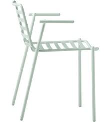 Włoski fotel Trampoliere P EX, wykonany jest w całości ze stali proszkowanej matowo - dostępnej w 5 kolorach: biały, grafit, lawendowy, czerwony lub...