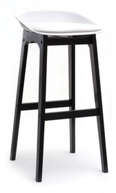 Wymiary: - szerokość: 44 cm - długość: 46 cm - wysokość: 86 cm - szerokość siedziska: 39 cm - długość siedziska: 38 cm - wysokość siedziska: 81...
