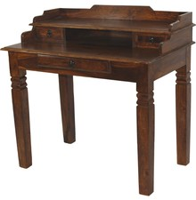 Sekretarzyk drewniany biurko