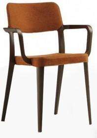 Włoskie krzesło NENE PP TS z podłokietnikiem - stelaż krzesła został wykonany z masy plastycznej, dostępnej w kilku kolorach, natomiast siedzisko i...