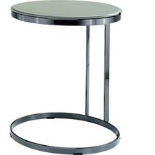 Kawowy stolik Joint H60, z podstawą metalową chromowaną lub w kolorze czarny nikiel. Blat stolika został wykonany ze skóry naturalnej lub...