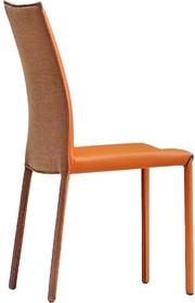 Krzesło Nuvola SA CU z wysokim oparciem. Stelaż krzesła jest metalowy malowany na kolor biały lub grafitowy.<br />Siedzisko z oparciem zostało...