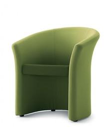 MIRRA MR001 to jednoosobowy fotel tapicerowany. Podstawa fotela to nylonowe, czarne nóżki. Fotel idealnie nadaje się zarówno do przestrzeni...