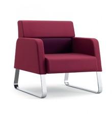 MY WAY MW101C jednoosobowy fotel w pełni tapicerowany z podłokietnikami. Podstawa fotela to nogi w typie płozy, chromowane. Fotel idealnie nadaje się...