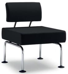 DOMINO jest ławką stworzoną na wzór foteli. Występuje w wielu wersjach z różnymi kombinacjami. DOMINO D001 posiada jedno siedzenie, chromowaną ramę i...