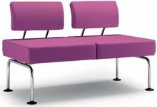 DOMINO jest ławką stworzoną na wzór foteli. Występuje w wielu wersjach z różnymi kombinacjami. DOMINO D002 posiada dwa siedzenia, chromowaną ramę i...