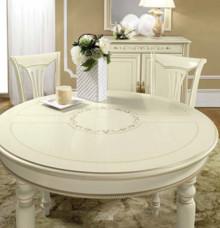 Stół okrągły SIENA DAY AVORIO wykonany z forniru drewna i ybarwioany na kremowy kolor. Podstawa stołu to cztery tłoczone i drewniane nogi. Blat...