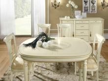 Stół owalny SIENA DAY AVORIO o wymiarach 160/100cm rozkładany do 205cm, wykonany z forniru drewna lipowego i wybarwiany na kolor kremowy. Podstawa...