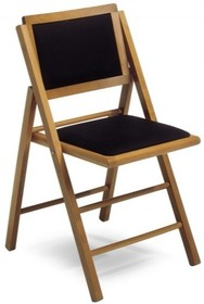 Włoski stół składany o szerokości 100 cm. z 4 składanymi krzesłami. Wykonany z drewna bukowego wybarwianego na kolor orzecha. Górna...