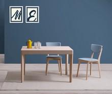 Stół JIMY o wymiarze 110x70 cm. rozkładanym do 160 cm.<br />Blat stołu zostal wykonany ze szkła hartowanego w kolorze białym. Podstawa stołu...