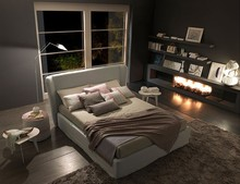 Włoskie łóżko Sienna Chic jest częścią kolekcji znanej włoskiej firmy Bolzan Letti, która specjalizuje się w produkcji...