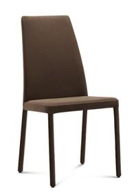 Krzesło FOREST wyprodukowane przez Domitalia.  Krzesło posiada stalowy stelaż, którego jednak nie widać, ponieważ jest w całości tapicerowane....