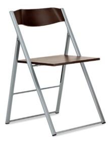 Krzesło składane ICON wyprodukowane przez jedną z najlepszych firm meblarskich na świecie- Domitalia. Krzesło posiada lakierowany, stalowy stelaż...