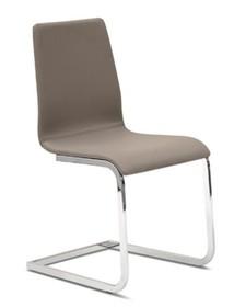 Krzesło Jude SV wyprodukowane przez Domitalia. Krzesło posiada lakierowany, stalowy stelaż oraz siedzenie i oparcie całkowicie tapicerowane....