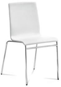 Krzesło Juliet wyprodukowane przez Domitalia. Krzesło posiada lakierowany, stalowy stelaż oraz siedzenie i oparcie całkowicie tapicerowane z...