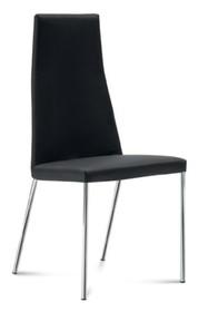 Krzesło Sierra wyprodukowane przez Domitalia. Krzesło posiada metalowy stelaż, wysokie, tapicerowane oparcie oraz tapicerowane siedzenie. Posiada...