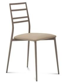 Krzesło Slim wyprodukowane przez Domitalia. Jego tapicerowane siedzenia, wykończone metalową konstrukcją, wraz z racjonalnym projektem sprawiają,...