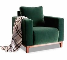 Fotel tapicerowany SKANDYNAWIA