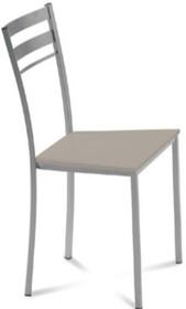 Krzesło TIP-1 wyprodukowane przez Domitalia. Krzesło posiada metalowy stelaż oraz siedzenie wykonane z drewna bukowego bądź białego polipropylenu....