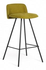 MOLLY H65 cm, to hoker z podstawą metalową chromowaną lub malowaną na kolr grafit. Siedzisko zostało zatapicerowane w tkaninę lub eko...