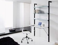 System ścienny OK od Domitalia to otwarte szafy, szafki, półki i regały. System ścienny, aluminium anodowane (AN) lub anodowane lakierowane na...