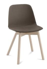 DOT-LT to krzesło pochodzące z kolekcji  Domitalia. <br />Krzesło z oparciem posiada nogi z drewna bukowego a siedzisko wraz z oparciem...