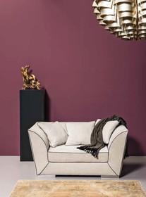 Włoski stylowy fotel DAG pochodzący z najnowszej kolekcji Notte Brava.<br />Konstrukcja nośna z płyty wiórowej i dykty. Rozszerzona...