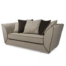 Włoska stylowa sofa DAG pochodząca z najnowszej kolekcji Notte Brava.<br />Konstrukcja nośna z płyty wiórowej i dykty. Rozszerzona...