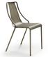 Metalowe krzesło bez podłokietników OLA MIDJ