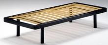 Stelaż łóżka/ łóżko pod materac bez przodu ani tyłu (zagłówka i części przy nożnych).<br />Stelaże z ramą obwodową...