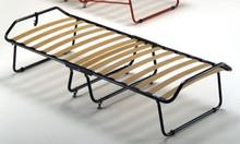 Stelaż łóżka pod materac bez przodu oraz tyłu, składany.<br />Stelaże z ramą obwodową metalową o przekroju 40 mm stworzone z listew ze...