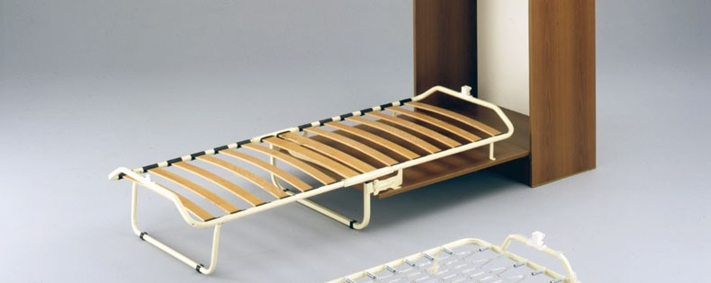 łóżko Stelaż Pod Materac Składany Z Szafką Produkt Włoski